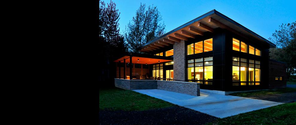 Espace Vital Architecture Chalet J A Bombardier