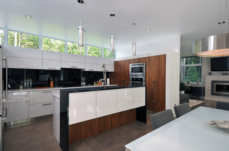 résidence Ferland-Gladu cuisine architecture contemporaine