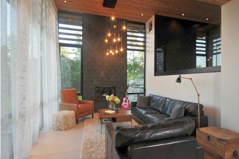 architecture contemporaine Maison Marylyn Gagné