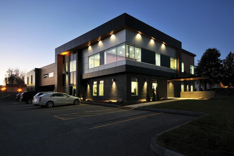 architecture bâtiment Construction Longer Sherbrooke