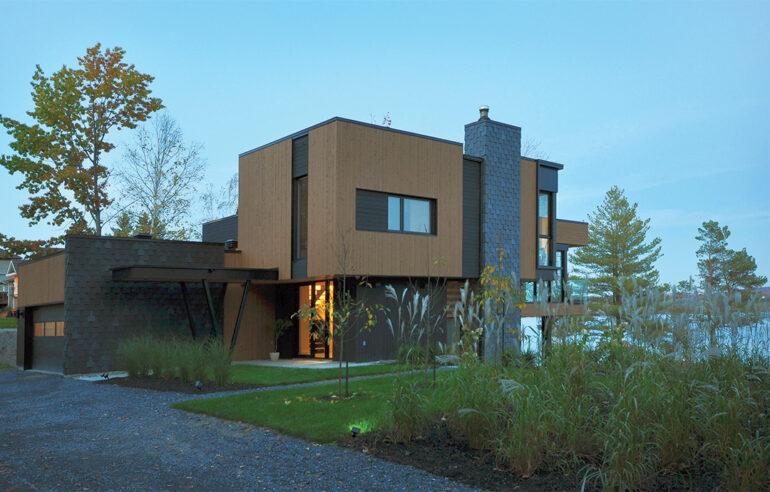 Maison contemporaine architecte espace vital architecture