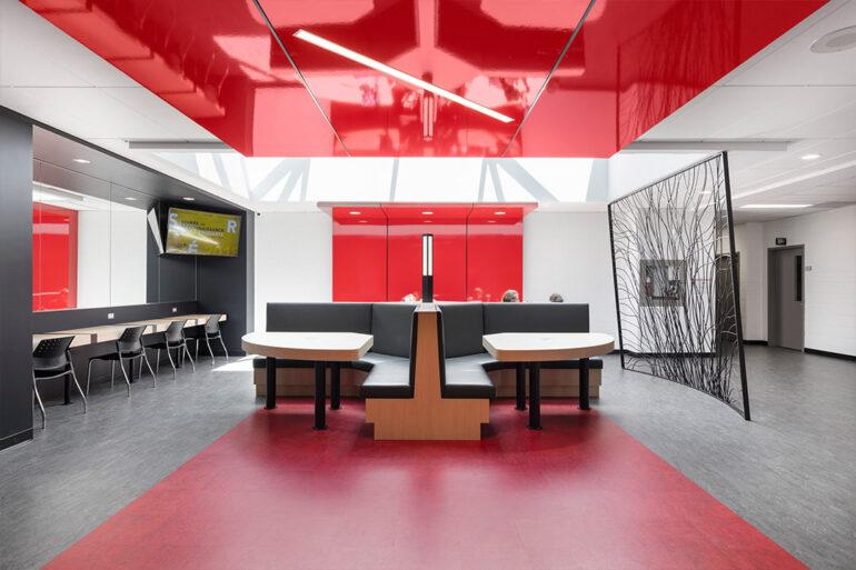 Bibliothèque Cégep Drummondville architecture projet espace vital