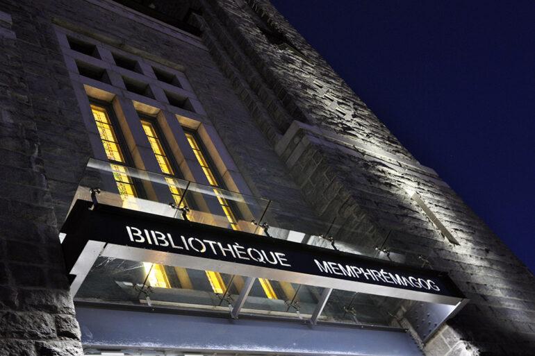 Biblithèque Memphrémagog espace vital