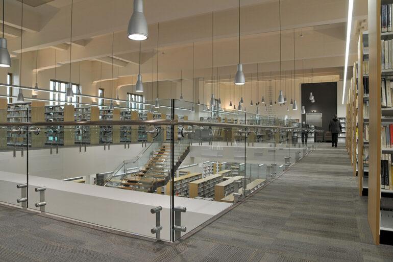 Biblithèque Memphrémagog architecture espace vital