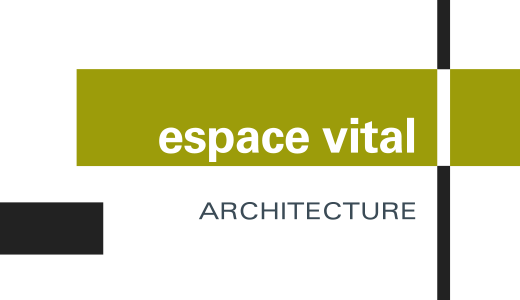 espace vital architecture logo couleur