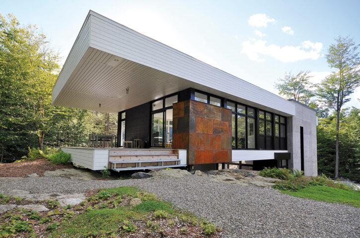 petite maison moderne architecture espace Vital