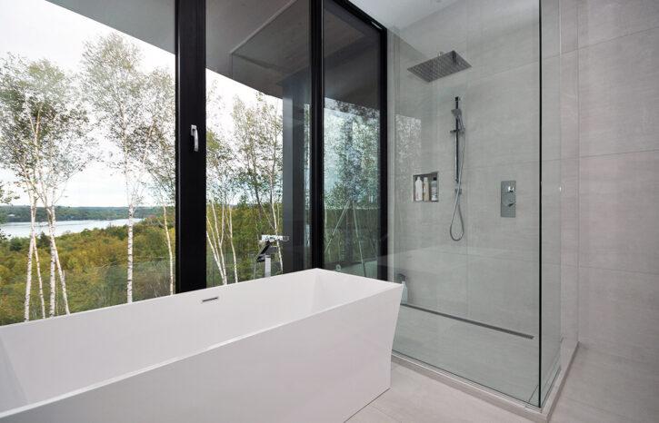 salle de bain résidence Pilon Hébert espace vital architecture