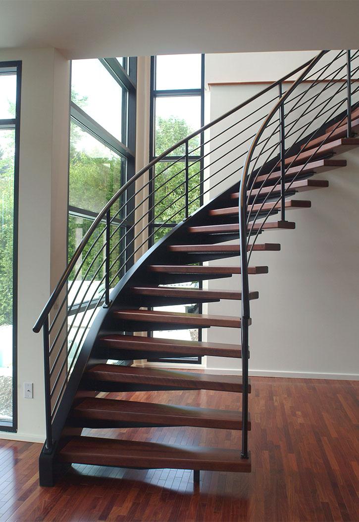 Résidence Élias escalier architecture comtemporaine