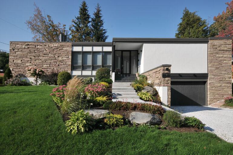 Architecture comtemporaine Résidence Lemay-Ratti maison